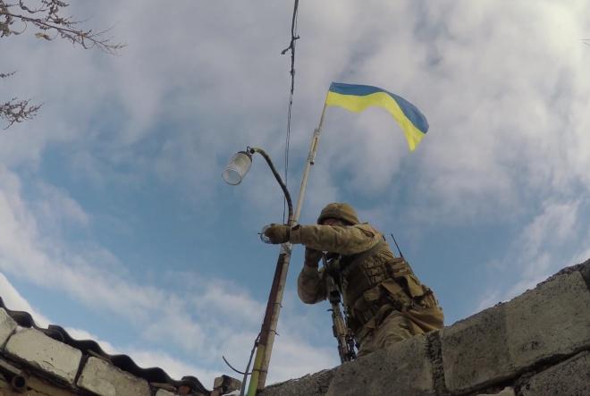 Защитники зачистили населенный пункт на Донбассе от обнаглевших боевиков - фото