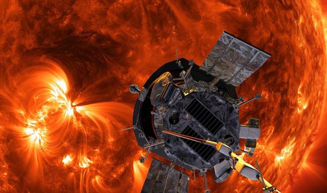 Зонд «Паркер» успешно впервые сблизился с Солнцем - фото