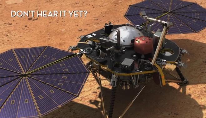 Как звучит ветер на Марсе? НАСА опубликовало первую аудиозапись с планеты - фото