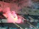 Полиция жестко задержала ультрасов на матче Черноморец-Ворскла