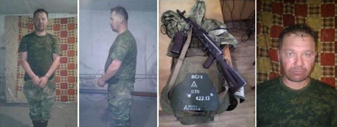 10 лет получил боевик, задержанный в Донбассе с оружием в руках - фото