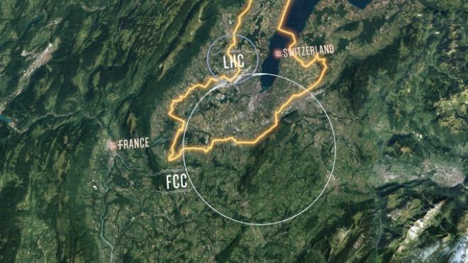 ЦЕРН показала свое видение нового коллайдера, который придет на замену БАК - фото