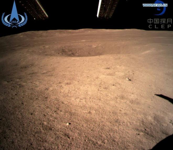 Китайский зонд обнаружил, что температура на обратной стороне Луны меньше, чем ожидалось - фото
