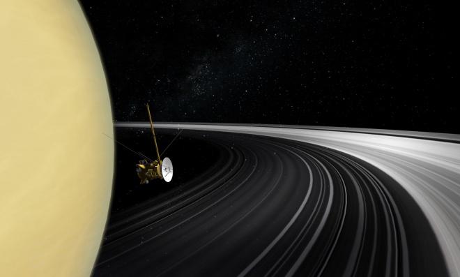 У Сатурна не всегда были кольца - фото