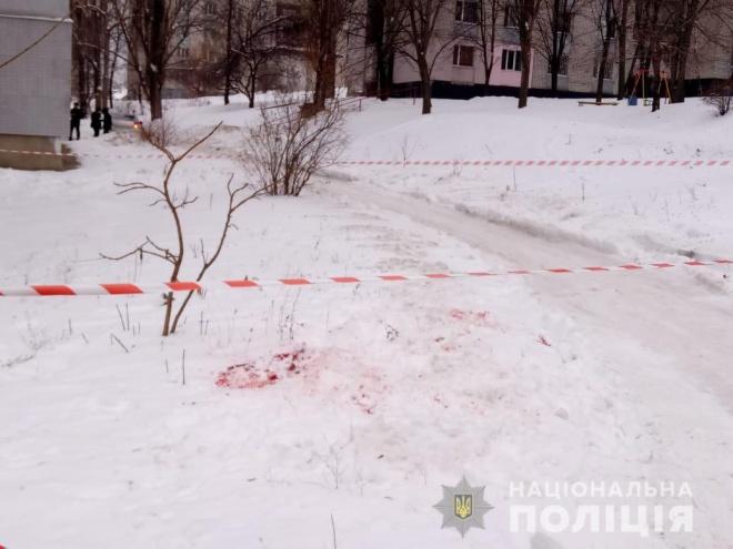 В Харькове совершили покушение на офицера полиции - фото