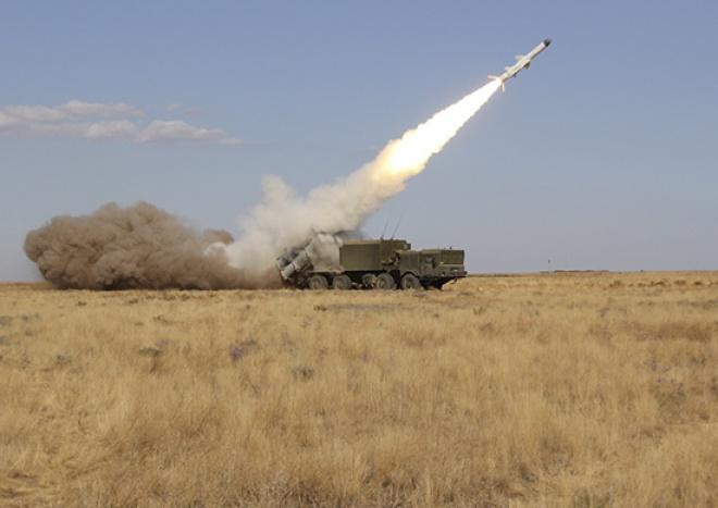 В Крыму оккупанты провели учения по нанесению ракетных ударов по морским целям - фото