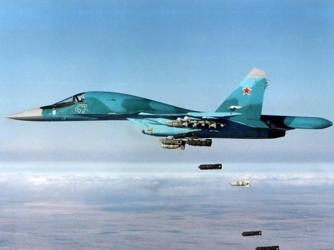 В России одновременно разбились два Су-34 - фото