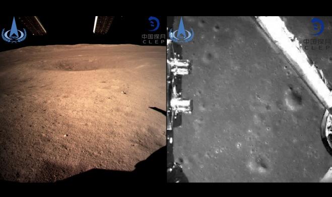 Впервые на обратной стороне Луны приземлился зонд, китайский - фото
