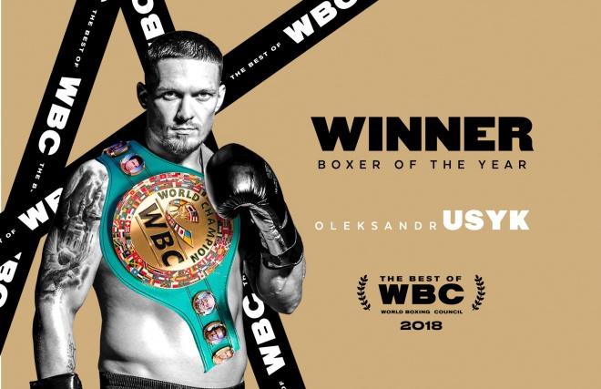 WBC признала Усика боксером года - фото