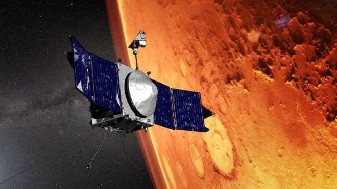 Аппарат MAVEN готовится к прибытию марсохода миссии-2020 - фото
