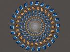 Почему мозг заставляет оптическую иллюзию двигаться?
