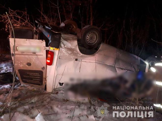 Умер еще один участник ДТП с микроавтобусом на Полтавщине - фото