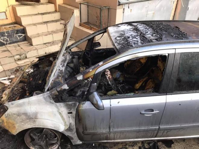 В Одессе подожгли автомобиль активиста - фото