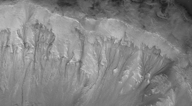 Глубокие подземные воды на Марсе образуют активную систему, предполагает исследование - фото