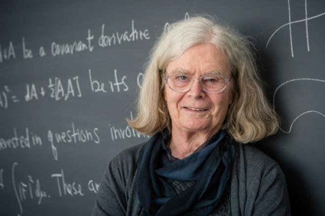 Впервые Абелевскую премию получила женщина - фото