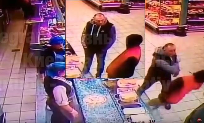 Одним ударом убил во время спора в очереди за пиццей, видео - фото