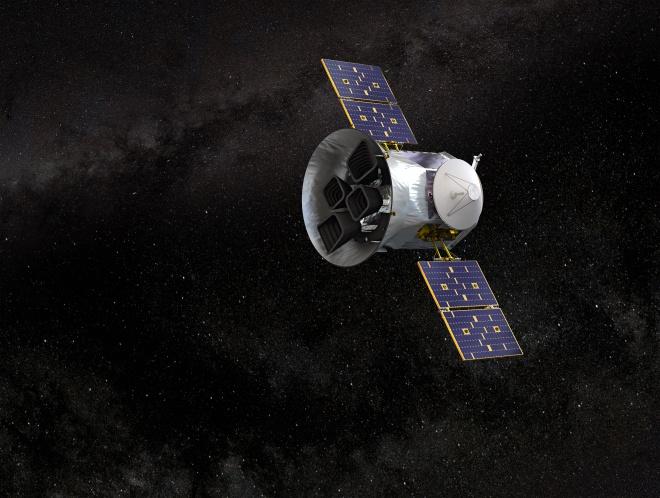 TESS обнаружил свою первую экзопланету размером с Землю - фото