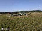 На Львовщине упал военный вертолет