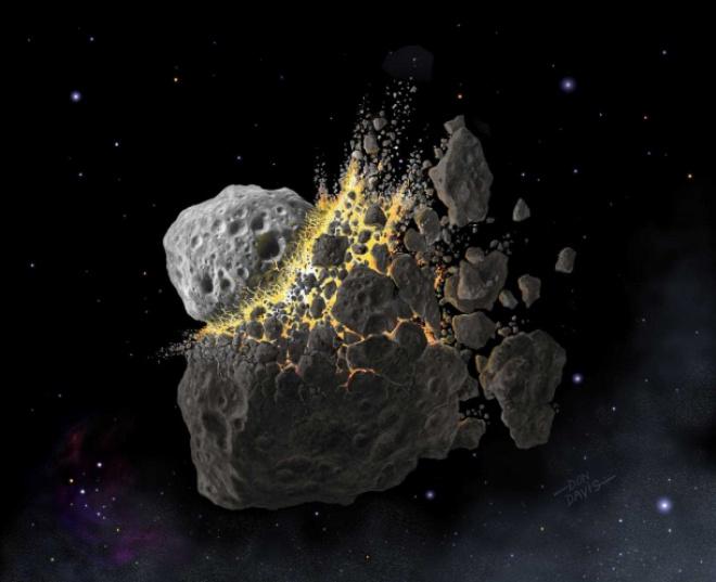 Бороться с глобальным потеплением могут помочь астероиды, считают ученые - фото