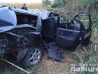 На Хмельниччине пьяный водитель врезался в электроопору: сам выжил, погибли 4 пассажира