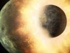 Столкновение планет может спустить в планетах внутреннее давление