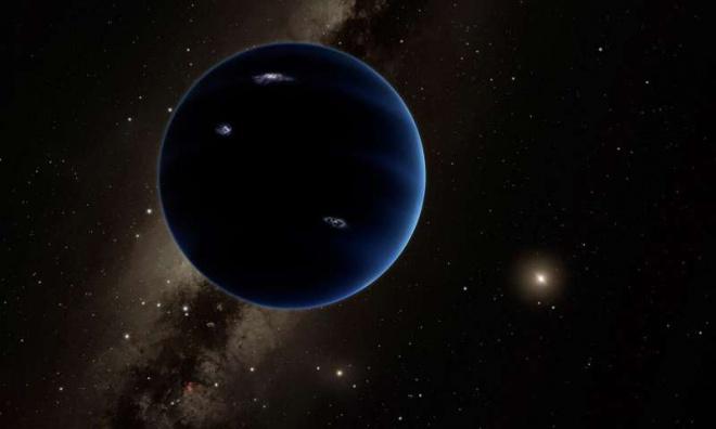 9 планета может быть черной дырой - фото