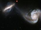 Слияние галактик является движущей силой звездообразований