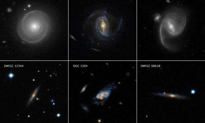 Темная материя разгоняется массивные спиральные галактики до безумных скоростей - фото