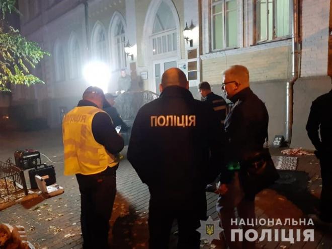 В центре Киева в результате взрыва гранаты погибли два человека - фото