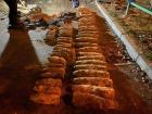 У Шулявского путепровода обнаружили склад ржавых боеприпасов