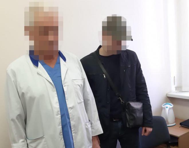 В Киеве задержан врач-онколог на взятке в $ 2 тыс - фото