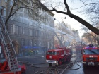 Масштабный пожар в Одесском колледже: есть погибший и пострадавшие