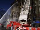 Продолжается тушение пожара в одесском колледже