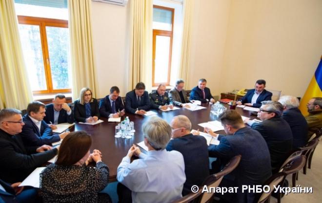 В СНБО определили меры по противодействию распространению коронавируса 2019-nCoV - фото