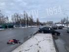 В Харькове автомобиль насмерть сбил двух пешеходов (видео)