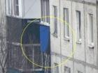 В России вертолет выстрелил в жилой дом