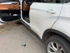 В Харькове патрульный стреляли в авто, которое на него наехало