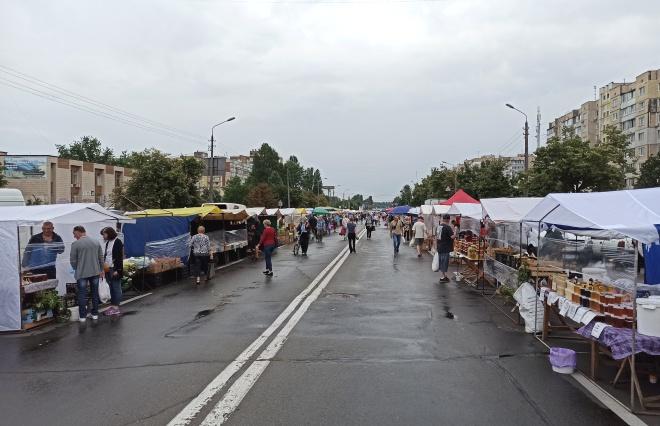 28 июля - 2 августа в Киеве проходят районные ярмарки - фото