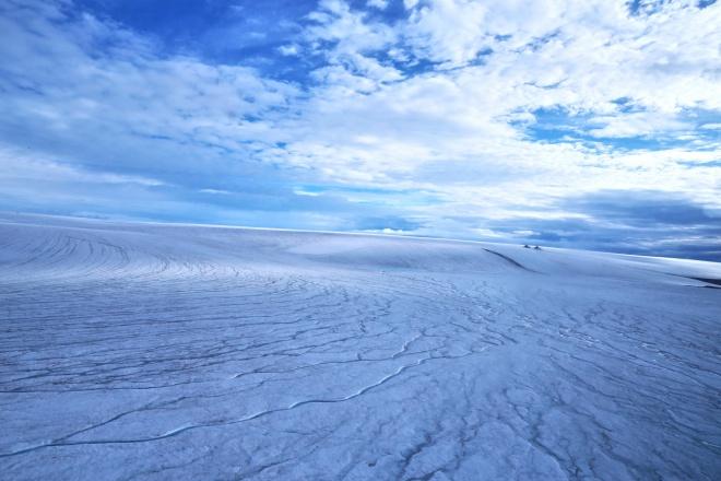 Ранний Марс возможно был покрыт ледяными щитами, а не проточными реками - фото