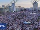 Сотни тысяч белорусов вышли на митинг против Лукашенко
