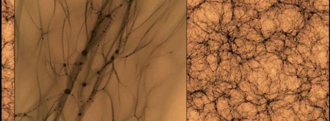 Ученые увидели вблизи темную материю, раскрыв невидимый каркас Вселенной - фото